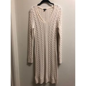 NWOT Cable Sweater Dress
